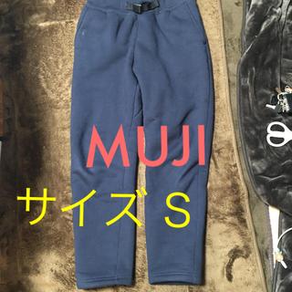 ムジルシリョウヒン(MUJI (無印良品))の❤️MUJIスウェットパンツ ネイビー S(その他)