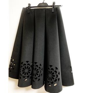 シックウィッシュ(Chicwish)のChicwish カットアウトスカート xs(ひざ丈スカート)