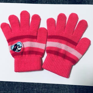 ディズニー(Disney)のディズニー キッズ ミニー手袋(手袋)