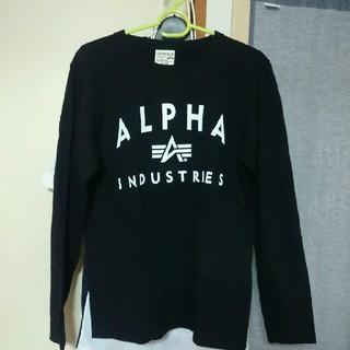 アルファ(alpha)のALPHA 11日まで期間限定価格(Tシャツ/カットソー(七分/長袖))