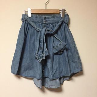 アンスクウィーキー(UNSQUEAKY)のUnsqweaky♡腰巻きデザインスカート(ミニスカート)