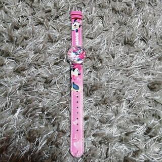 ディズニー(Disney)の☆Disney ☆ ミニーちゃんの腕時計(腕時計)