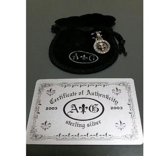エーアンドジー(A&G)のA&G skull スカル ペンダント トップ シルバーアクセサリー (ネックレス)