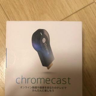 クローム(CHROME)のcromecast クロームキャスト(映像用ケーブル)