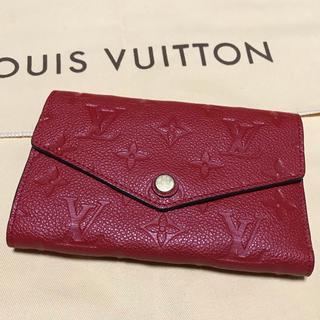 ルイヴィトン(LOUIS VUITTON)の超美品❤ルイヴィトン【アンプラント】折財布のご紹介(財布)