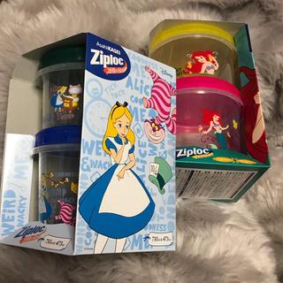 ディズニー(Disney)のジップロック コンテナ アリス アリエル(容器)