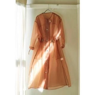 ワンエルディーケーセレクト(1LDK SELECT)のlittle Suzie オーガンジー シースルー ワンピース ドレス(ロングワンピース/マキシワンピース)