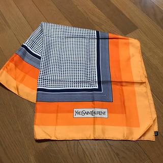 イヴサンローランボーテ(Yves Saint Laurent Beaute)のお値下げ☆イヴ・サンローラン 大判スカーフ(バンダナ/スカーフ)