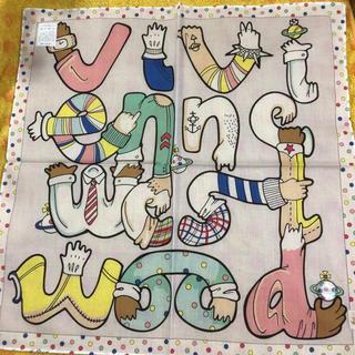 ヴィヴィアンウエストウッド(Vivienne Westwood)のヴィヴィアンウエストウッドハンカチユニークロゴ(ハンカチ/ポケットチーフ)