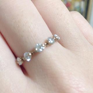 あやさま専用 アベリ のダイヤモンドチェーンリング(リング(指輪))