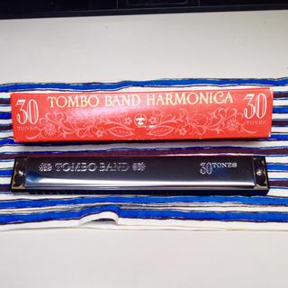ビンテージNo.3330C 複音ハーモニカ TOMBO BAND 30(ハーモニカ/ブルースハープ)