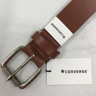 コンバース(CONVERSE)の新品 コンバース CONVERSE メンズ革 ベルト 紳士 カジュアル 茶(ベルト)