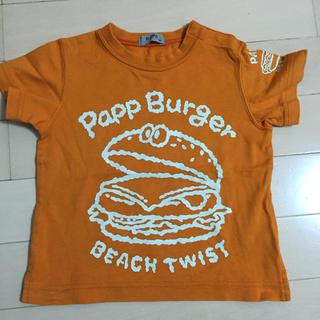 パプ(papp)のPapp ハンバーガーTシャツ サイズ90(Tシャツ/カットソー)