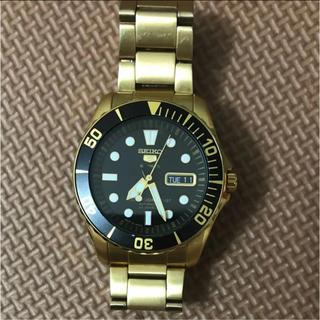 セイコー(SEIKO)のSEIKO 5 金色 海外限定モデル(腕時計(アナログ))