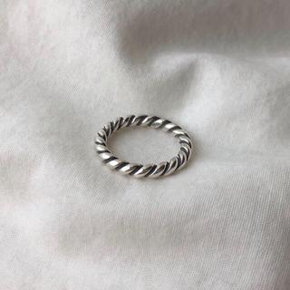 ▫️Silver925▫️Lydie twist ring(リング(指輪))
