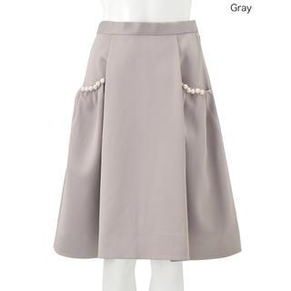 チェスティ(Chesty)のチェスティ☆パールフレアスカート(ひざ丈スカート)