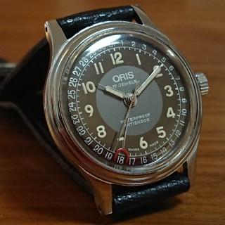 オリス(ORIS)のORISポインターデイト  オーバーホール済(腕時計(アナログ))