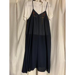 シマムラ(しまむら)の大きいサイズ レディース(Tシャツ(半袖/袖なし))