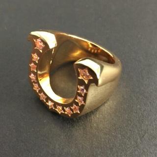 ホースシューリング ゴールド9号(リング(指輪))