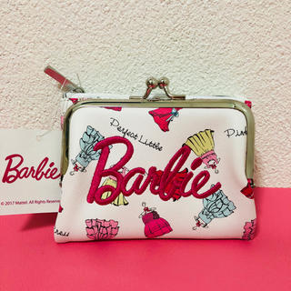 バービー(Barbie)のBarbie がま口財布パスケース付き(財布)