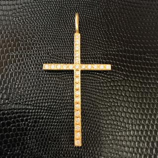 エスオーエスエフピー(S.O.S fp)のsjx クロスチャームXL 18k イエローゴールド(ネックレス)