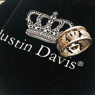 ジャスティンデイビス(Justin Davis)の✩⃛ ジャスティンデイビス リング シルバー 13号 マイラブリング メンズ(リング(指輪))