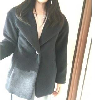 トランテアンソンドゥモード(31 Sons de mode)の31an de mode ゆったりコート M 売りつくし!新品タグ付き  福袋 (ピーコート)