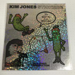 キムジョーンズ(KIM JONES)の新品未使用 GU × キムジョーンズステッカー(その他)