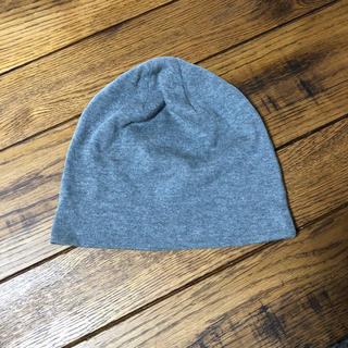 CA4LA コットン帽子 グレー キャップ ニット帽 キャスケット ユニセックス