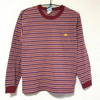 ハンテン(HANG TEN)のヴィンテージ  ハンテン  アメリカ製 ロンティー ボーダー ティーシャツ(Tシャツ(長袖/七分))