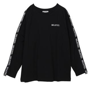 ミルクフェド(MILKFED.)のミルクフェド/MILKFED. LOGO TAPE LS TEE(Tシャツ(長袖/七分))