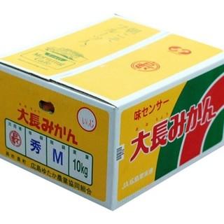 広島県産 大長みかん 10kg ×8(フルーツ)