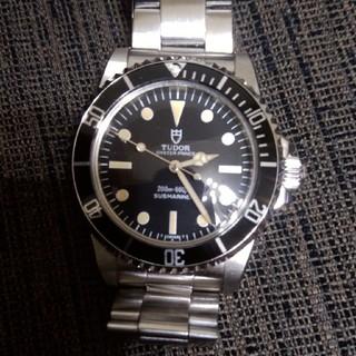 チュードル(Tudor)のチュードル サブマリーナ アンティーク(腕時計(アナログ))