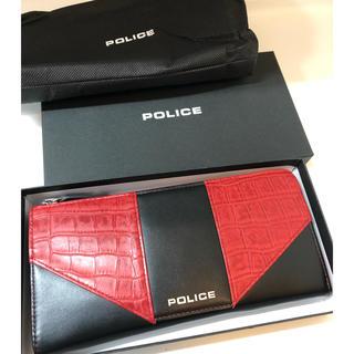 POLICE - 【新品未使用】POLICE メンズ長財布