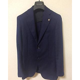 フィナモレ(FINAMORE)の美品 タリアトーレ    ネイビージャケット(テーラードジャケット)