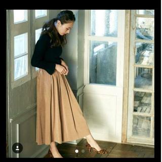 シェリーモナ(Cherie Mona)のシェリーモナ  スウェード フレアスカート(ロングスカート)