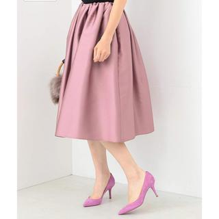 デミルクスビームス(Demi-Luxe BEAMS)のBeams フレアスカート(ひざ丈スカート)