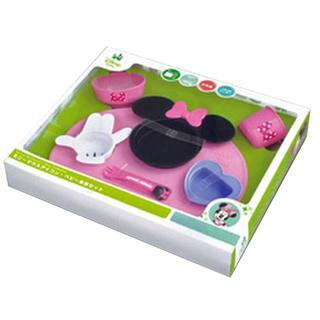 ディズニー(Disney)の🎀ミニーマウス🎀赤ちゃん離乳食プレート (離乳食器セット)