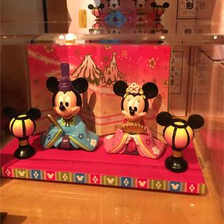 ディズニー(Disney)の雛人形 ピンク ディズニー 限定品 2019 ひなまつり (置物)