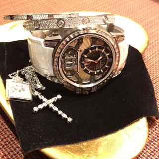 ハリーウィンストン(HARRY WINSTON)の美品♡ハリーウィンストン クロスダイヤ バケット ネックレス(ネックレス)