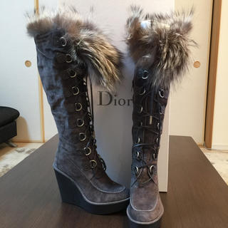 クリスチャンディオール(Christian Dior)のクリスチャン ディオール ブーツ☆レア品☆(ブーツ)