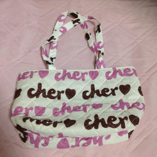 シェル(Cher)のcher 付録 小さめトート(エコバッグ)