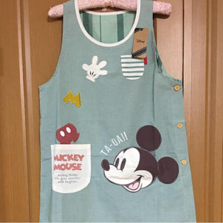 ディズニー(Disney)のミッキーマウス 保育士エプロン(日用品/生活雑貨)