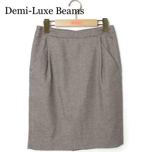 Demi-Luxe BEAMS(デミルクスビームス)の【 美品 】 Demi-Luxe Beams ひざ丈スカート レディースのスカート(ひざ丈スカート)の商品写真