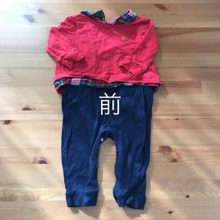 ベビーギャップ(babyGAP)の Baby GAP  カバーオール  6-12 months(ロンパース)