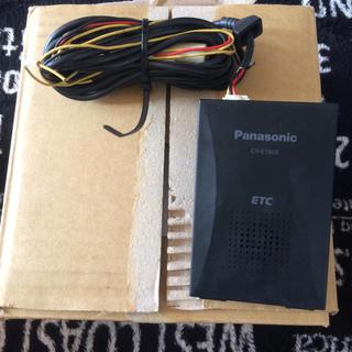 パナソニック(Panasonic)のPanasonicアンテナ内蔵型 ETC  型式CY-ET805 (ETC)