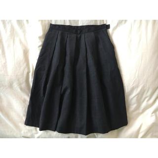 ムジルシリョウヒン(MUJI (無印良品))のフレアスカート(ひざ丈スカート)