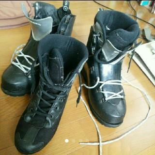 スカルパ(SCARPA)のスカルパ ベガ 冬用プラスチック二重登山靴(登山用品)