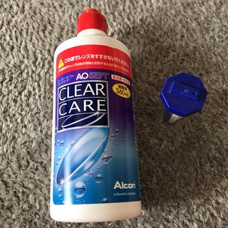 クリアクレア(clear crea)のコンタクト洗浄液(日用品/生活雑貨)