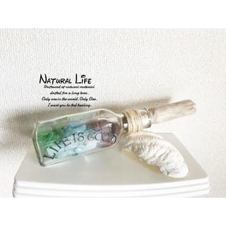 ✧✧✧✧直太朗様専用✧✧✧✧✧✧シーグラスのお洒落な瓶詰め⁎✧✧(家具)